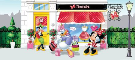 "Disney bedroom wallpaper ""Minnie Mouse"""